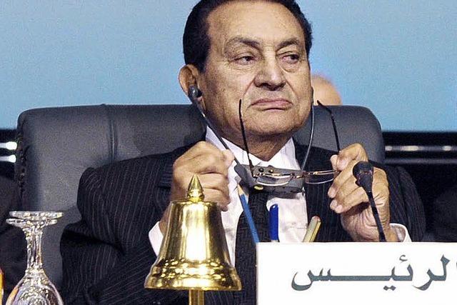 Husni Mubarak: Der gesunkene Stern des Pharao