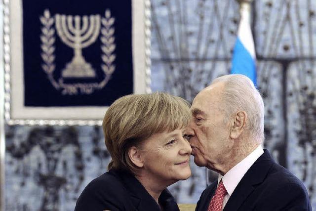Angela Merkel - eine besondere Freundin Israels