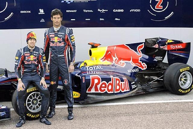 Neue Autos hat die Formel 1