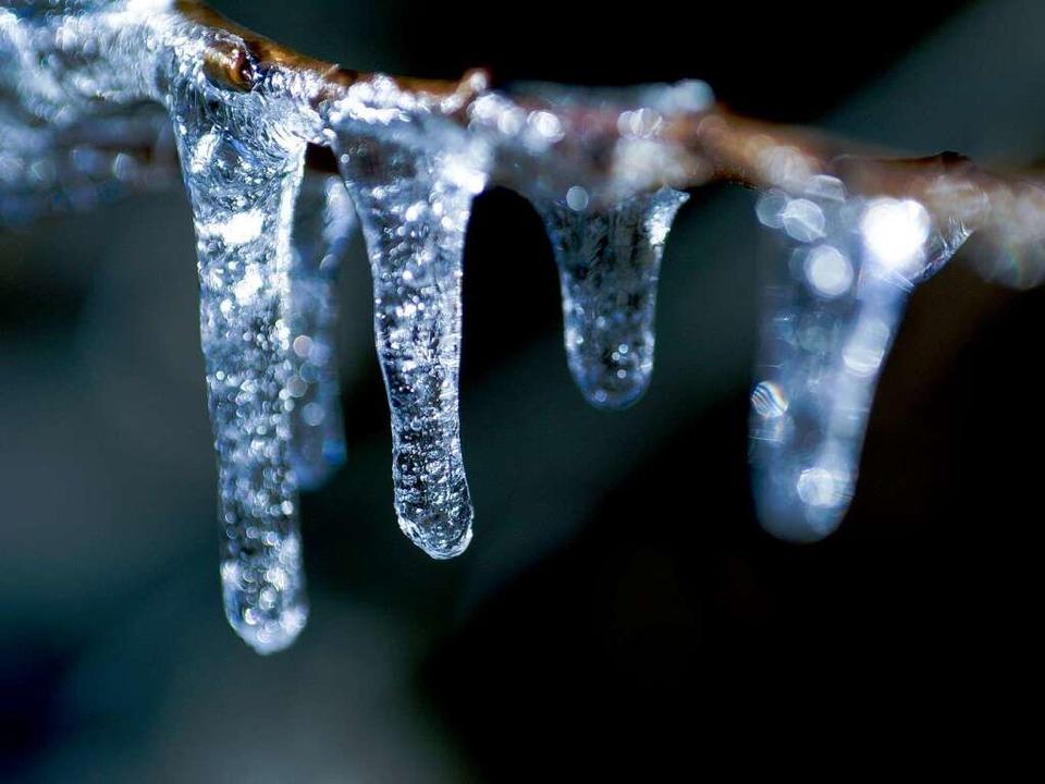 So ist Eis nett anzuschauen, in der Wasserleitung gefällt es uns aber nicht.    Foto: photocase.de/Erdbeertorte