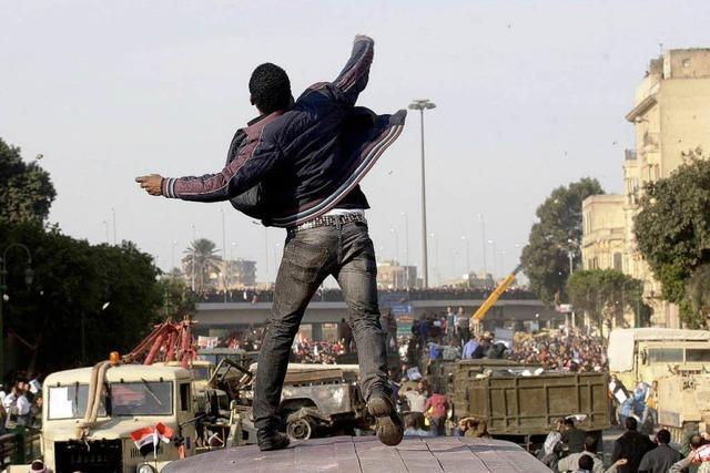 Unruhen in Ägypten: Der Präsident schickt die Kavallerie