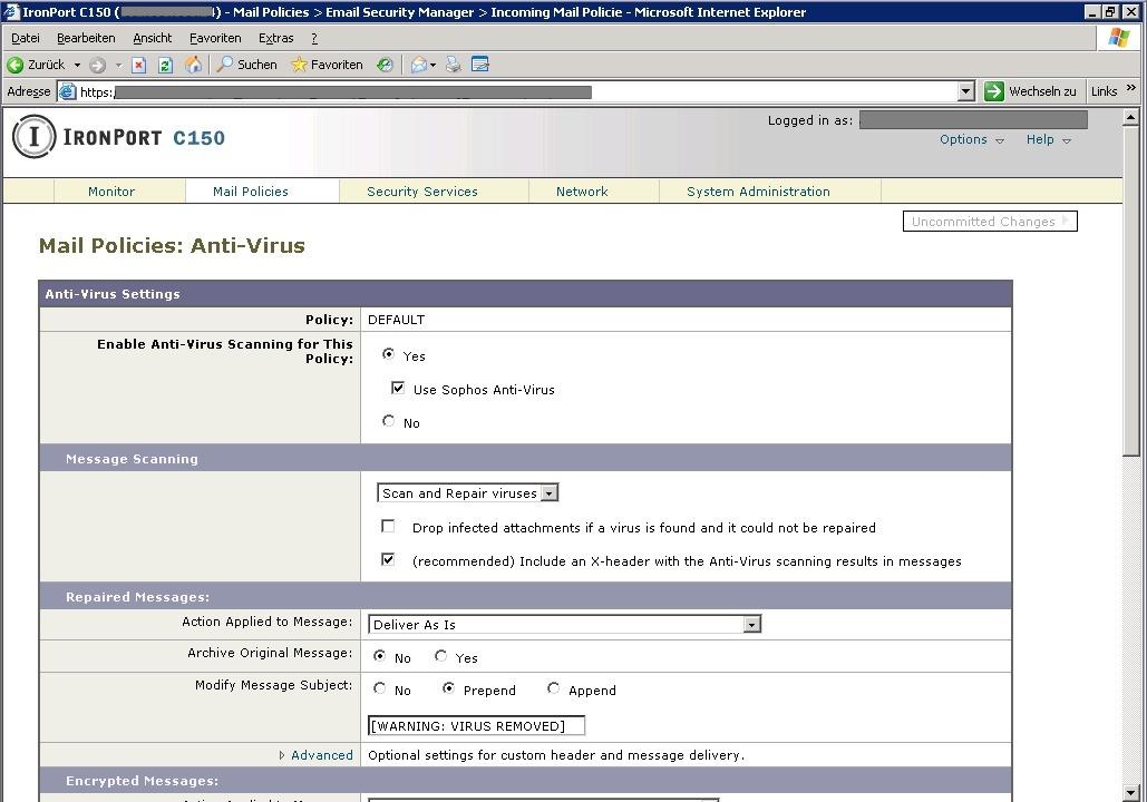 Der Antivirus-Schutz kann ebenfalls in...rmennetzwerk auf Viren zu untersuchen.    Foto: IDG