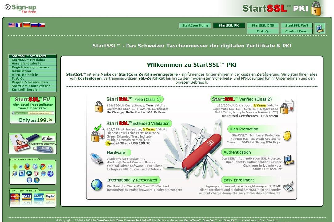 Ein einfaches Zertifikat für den Einsa... und kleinen Firmen ausreichen können.    Foto: IDG