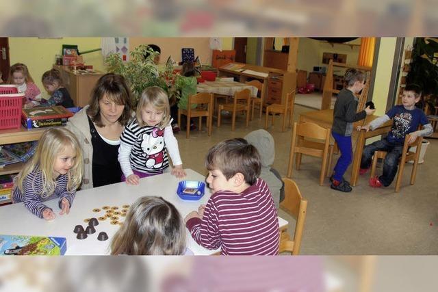 Kindergartenumbau startet