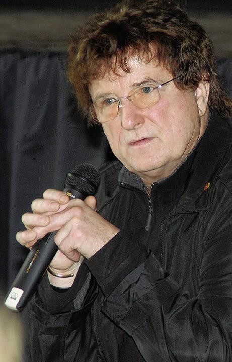 Wolfgang Welsch     Foto: BZ