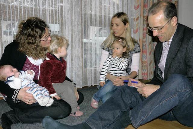 Zu Besuch bei den Jüngsten