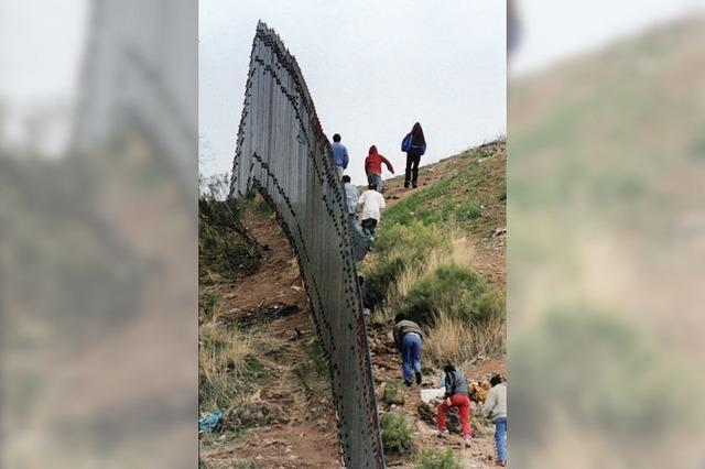 USA bauen Mauer an der Grenze zu Mexiko aus