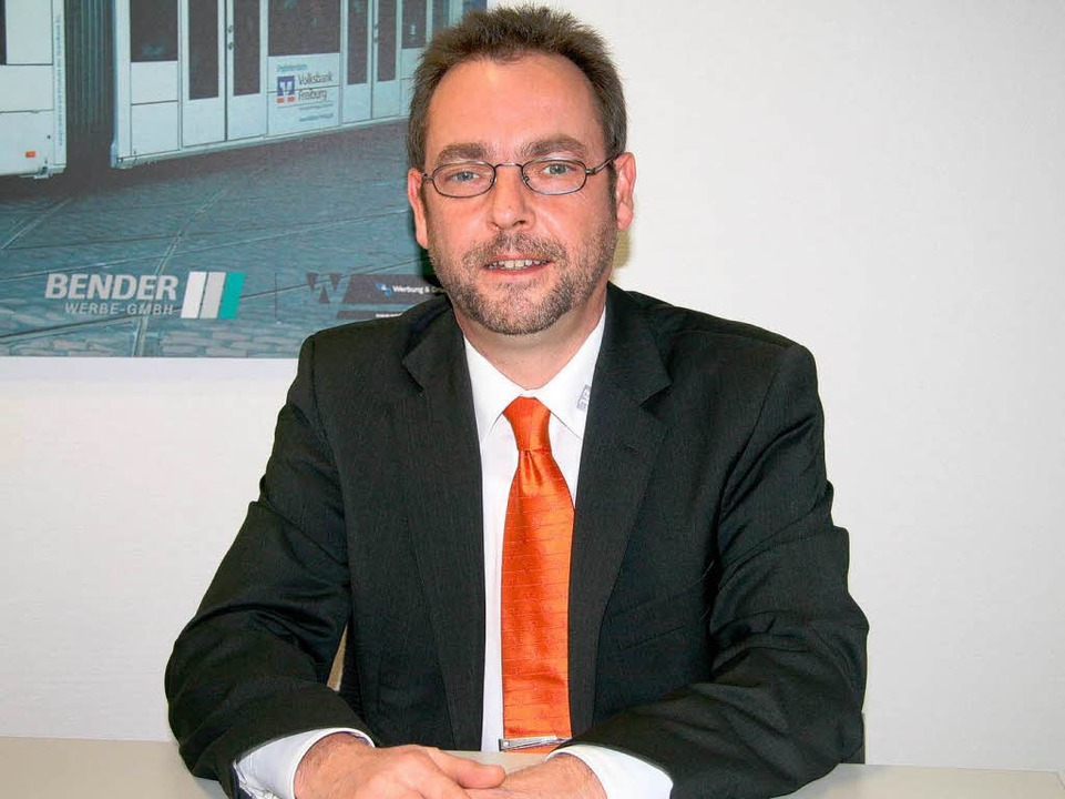 Andreas Altherr, Leiter Onlinebanking bei der Volksbank Freiburg  | Foto: PR / Volksbank Freiburg