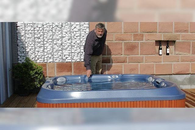 Belebendes Badevergnügen im Whirlpool