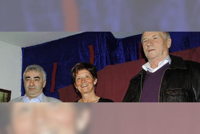Günter Bieg 40 Jahre dabei