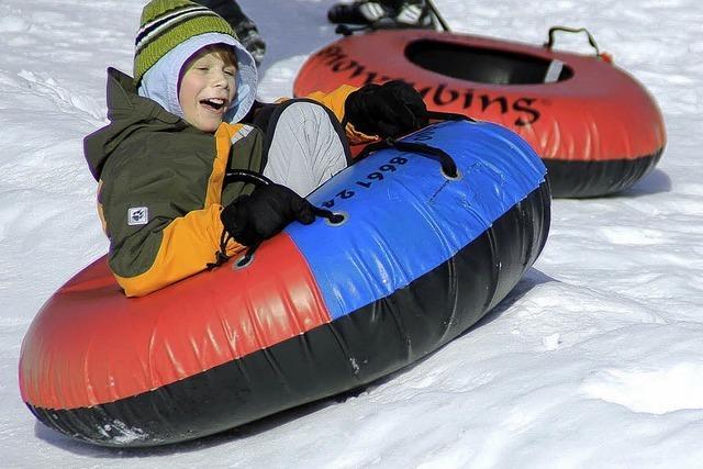 1500 Schüler haben viel Spaß im Schnee