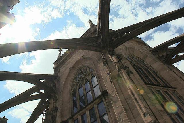 Helikopter in der Kathedrale