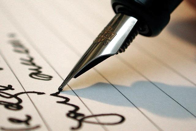 Wenn die Handschrift an Bedeutung verliert