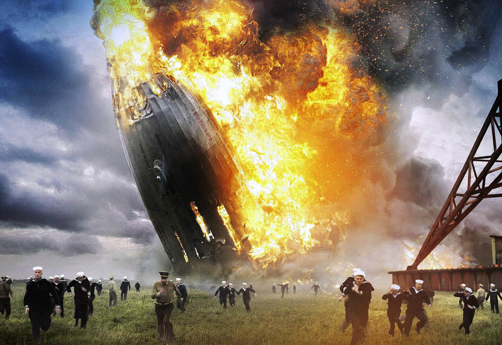 Absturz Hindenburg