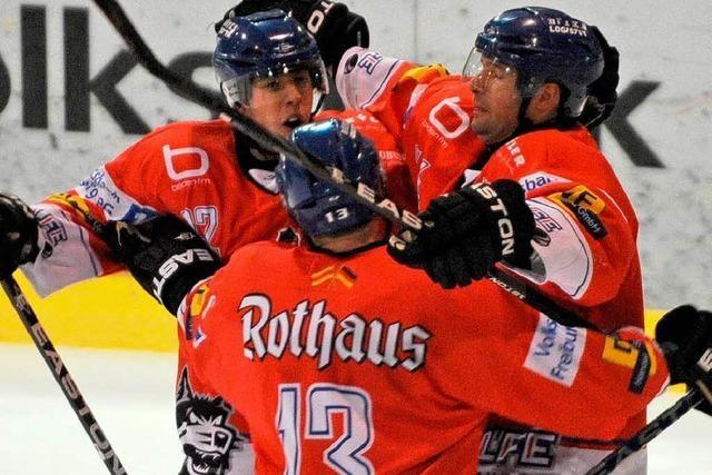 Der Eishockey-Gott zu Besuch in Freiburg