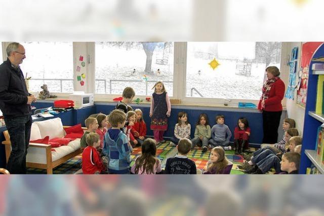 Die zweisprachige Grundschule wächst