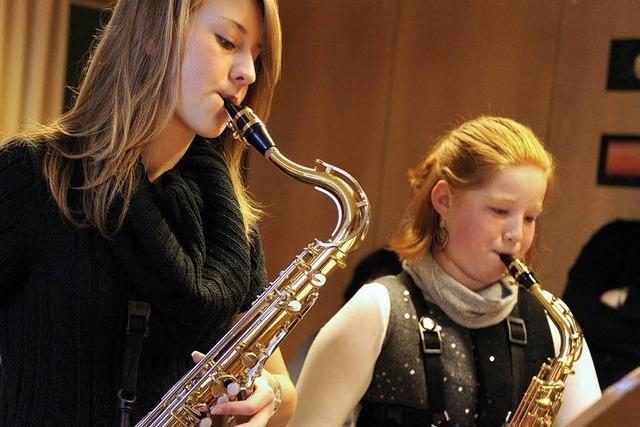 Die jungen Musiker werden immer besser