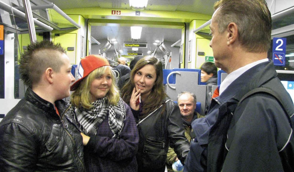 Nicht alle sind vor allem in den Abend...ei der Präventionskampagne Ende 2009.   | Foto: Maja Tolsdorf