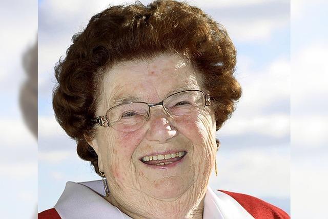 Elsa Reinbold wird 80 Jahre