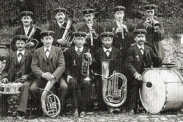 Musiker feiern 125-jähriges Bestehen