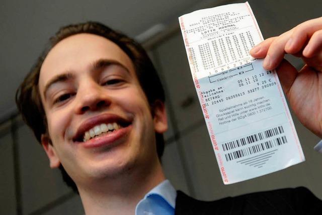 Glückspilz holt Lotto-Gewinn nicht ab - und bekommt ihn doch