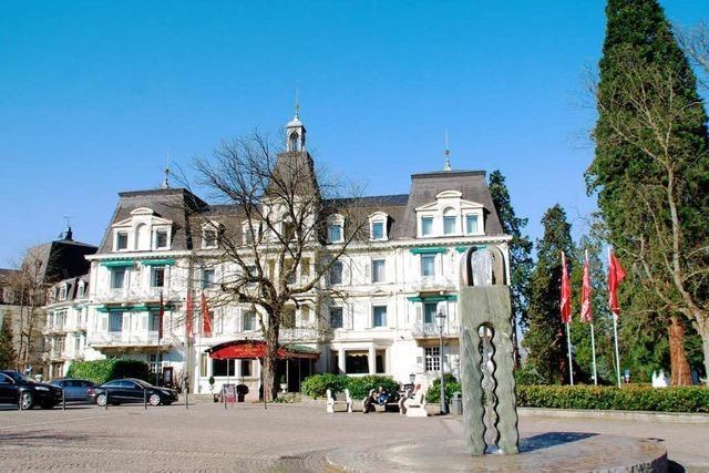 Hotel Römerbad: Betreiber-GmbH stellt Insolvenzantrag