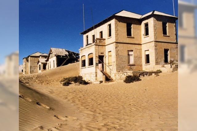 FLUCHTPUNKT: Wüste im Wohnzimmer