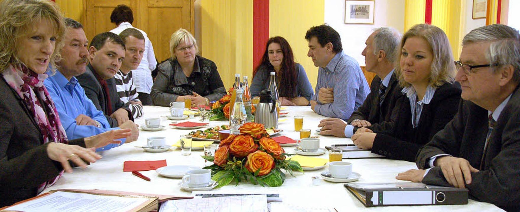 Rümmingens Bürgermeisterin Daniela Mei...ie Situation und Ziele der  Gemeinde.   | Foto: Jochen Fillisch