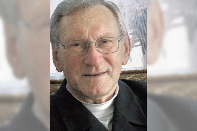 Mit 80 immer noch in der Kirche aktiv