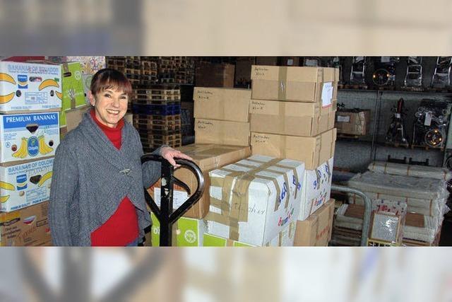2097 Tonnen Hilfsgüter verteilt