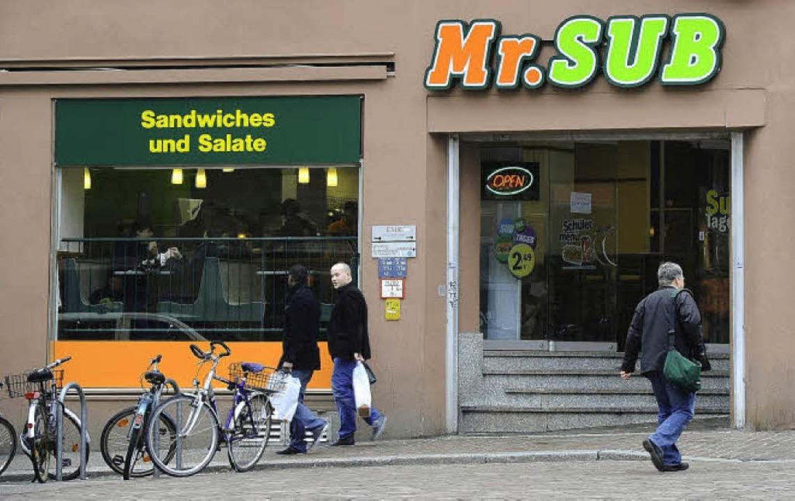 Das Sandwichrestaurant in der Kaiser-Joseph-Straße 256. Es heißt nun Mr. Sub.   | Foto: Ingo Schneider