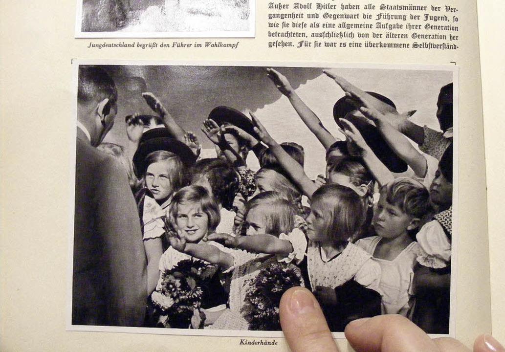 Brisant: Wer als Mädchen mit Hitlergru... Mittagstafel der Seniorenwohnanlage.   | Foto: Stefan Ziller