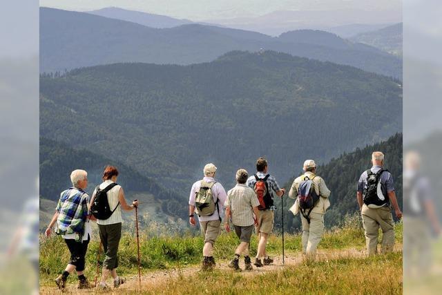 Gute Aussichten für Wanderfreunde