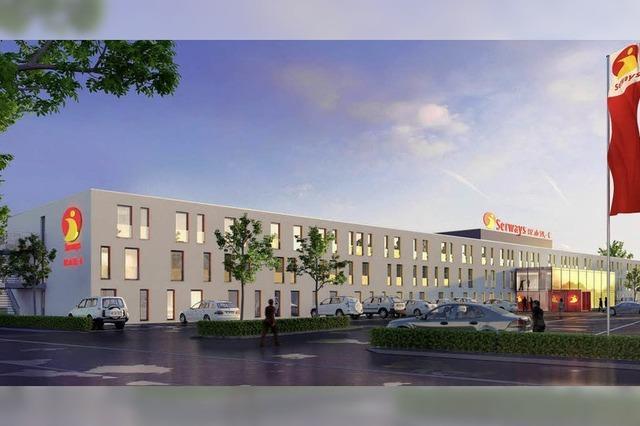 Neue Pläne für einen Hotelneubau in Ringsheim