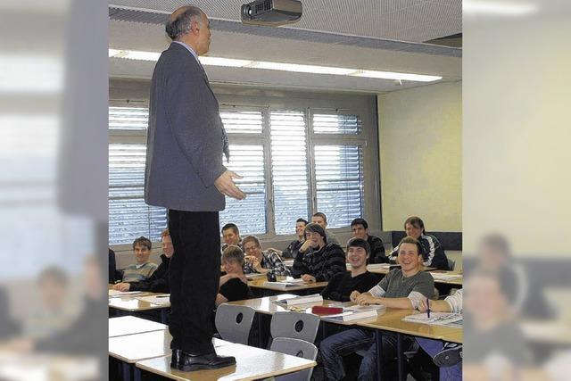 Schüler erhalten Einblick in die Berufswelt