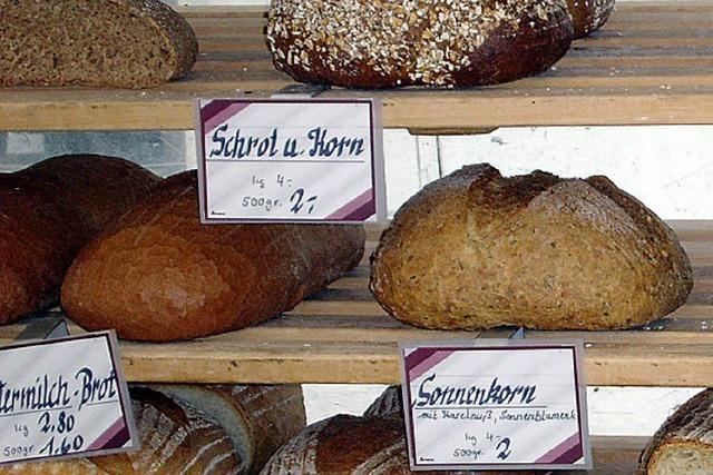 In Vielfalt kaum zu überbieten: Brot