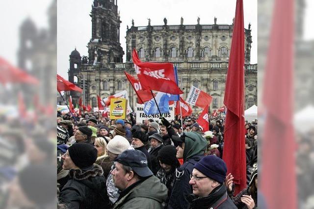 Dresden zwischen Marsch und Blockade