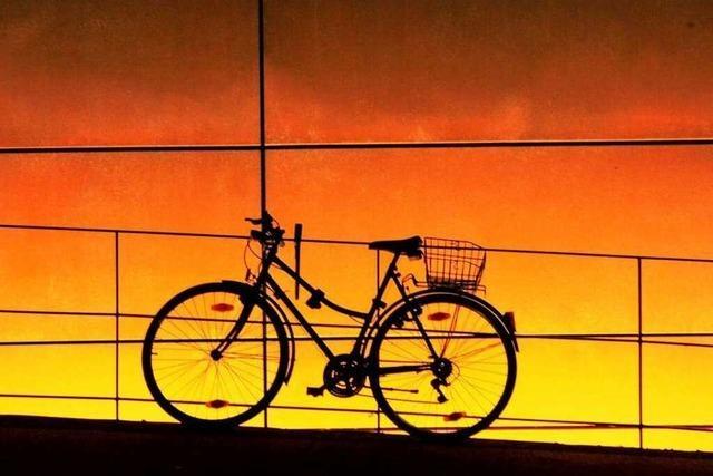 Radfahren mit Rückenwind