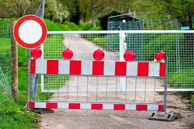 Steigstraße wird gesichert und geöffnet