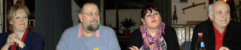 Schluss mit Atomkraft forderten (von l...(Linke) und Alexander Schoch (Grüne).   | Foto: Christine Speckner