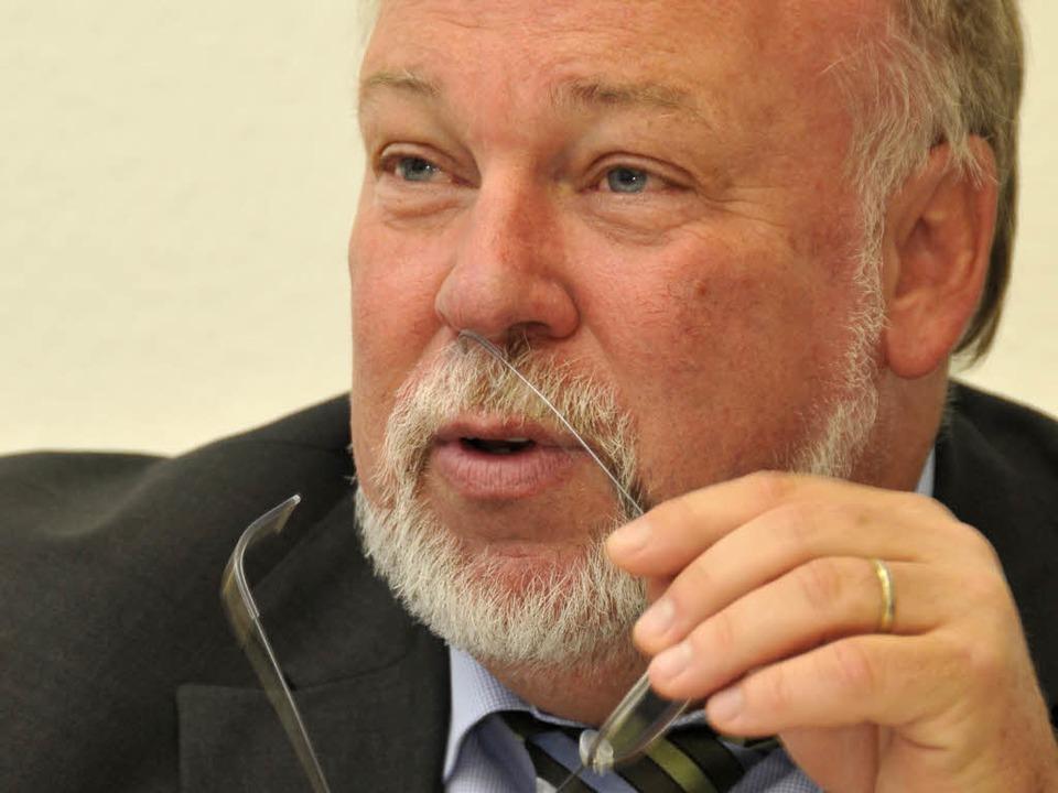 Rolf-Michael Kretschmer sagt der VAG Adieu – ohne finanzielle Einbußen.  | Foto: Ingo Schneider