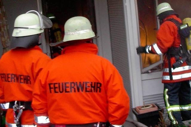 Feuer im Wohnheim: Frau war bei Brandausbruch schon tot