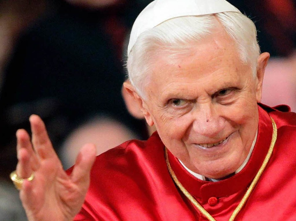 Papst Benedikt XVI.  | Foto: dpa