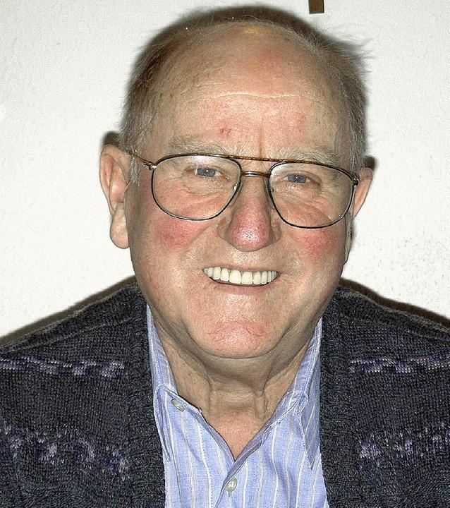 Anton Sennrich, Vorsitzender des VdK Ortsverbandes Gottenheim   | Foto: m. schöneberg