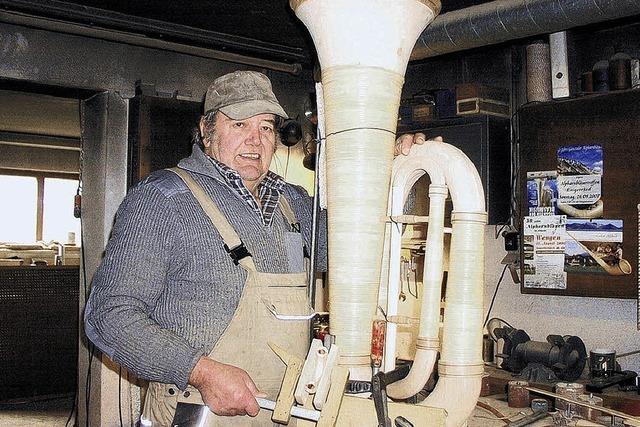 Norbert Fottner baut ein Blech-Instrument – aus Holz