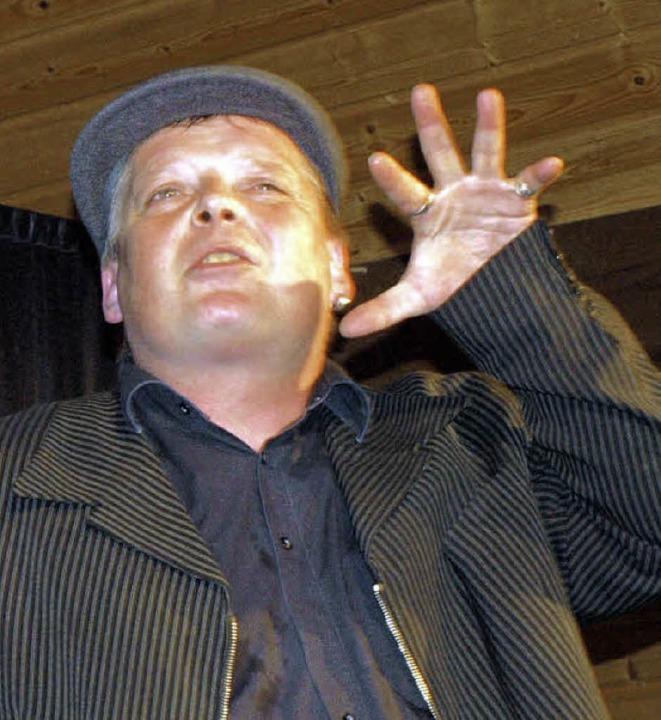 Michael Klink in Weisweil  | Foto: Michael haberer