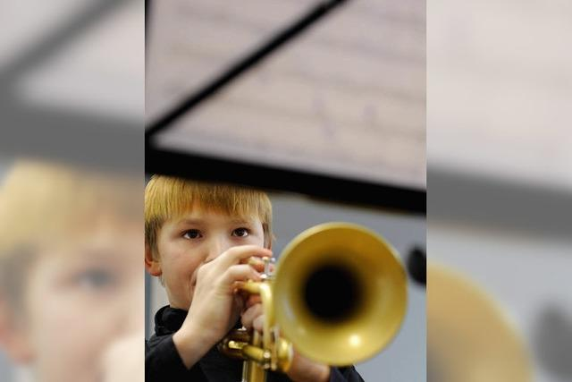Der Nachwuchs hat seine musikalischen Talente gezeigt