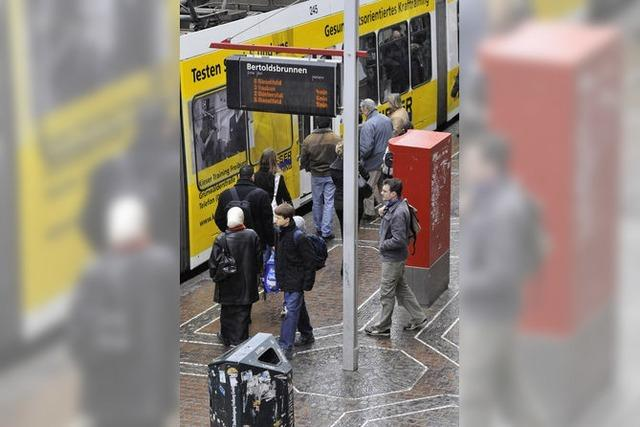 Fast 75 Millionen Fahrten mit Bus oder Tram