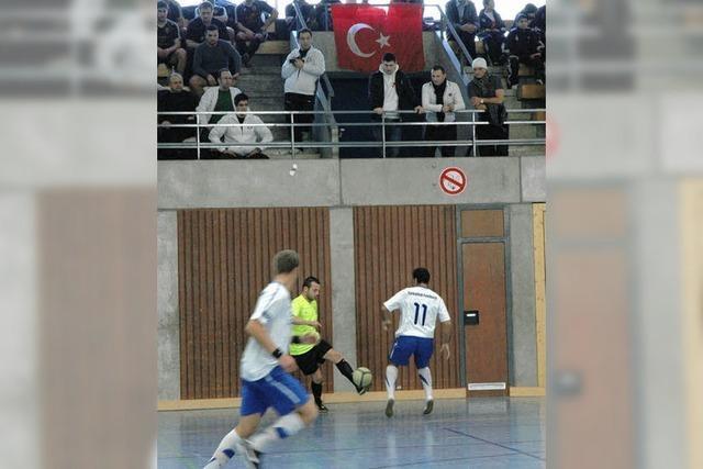 Türken feiern ein großes Fußballfest