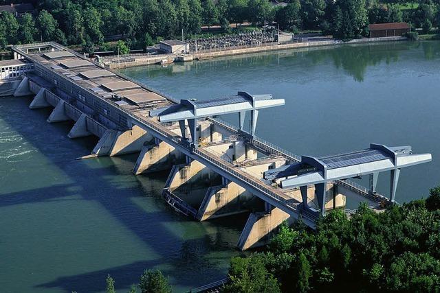 Das Rheinkraftwerk öffnet seine Tore